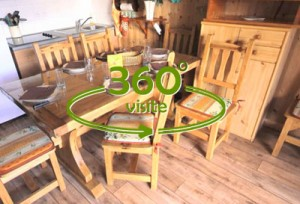 Location Feclaz – T4 Chalet Berger - Visite Virtuelle